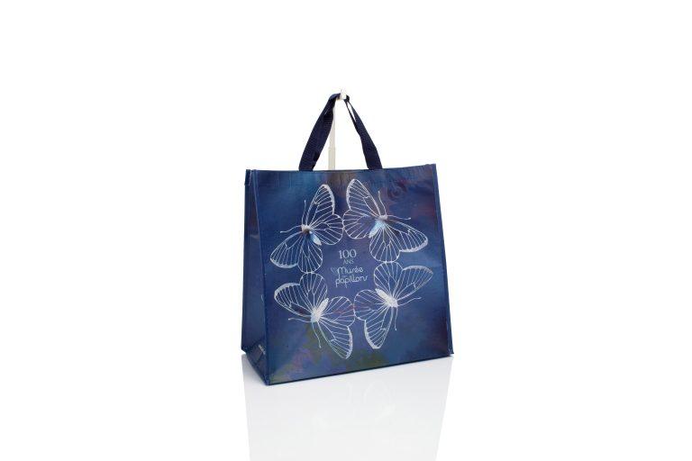 RPET tassen met bedrukking gemaakt van gerecycleerde PET flessen