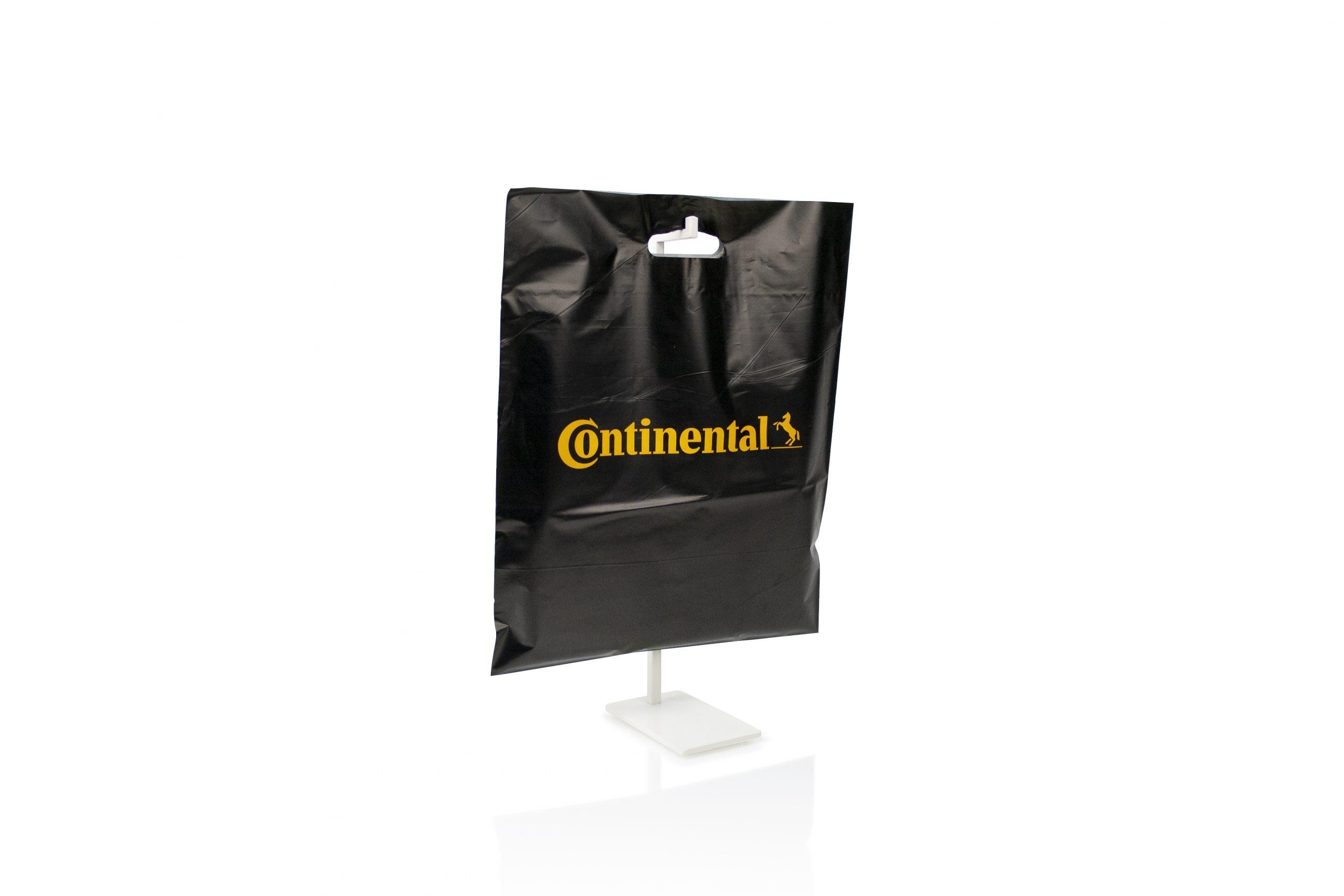 Biologisch afbreekbare zakken gepersonaliseerd met logo