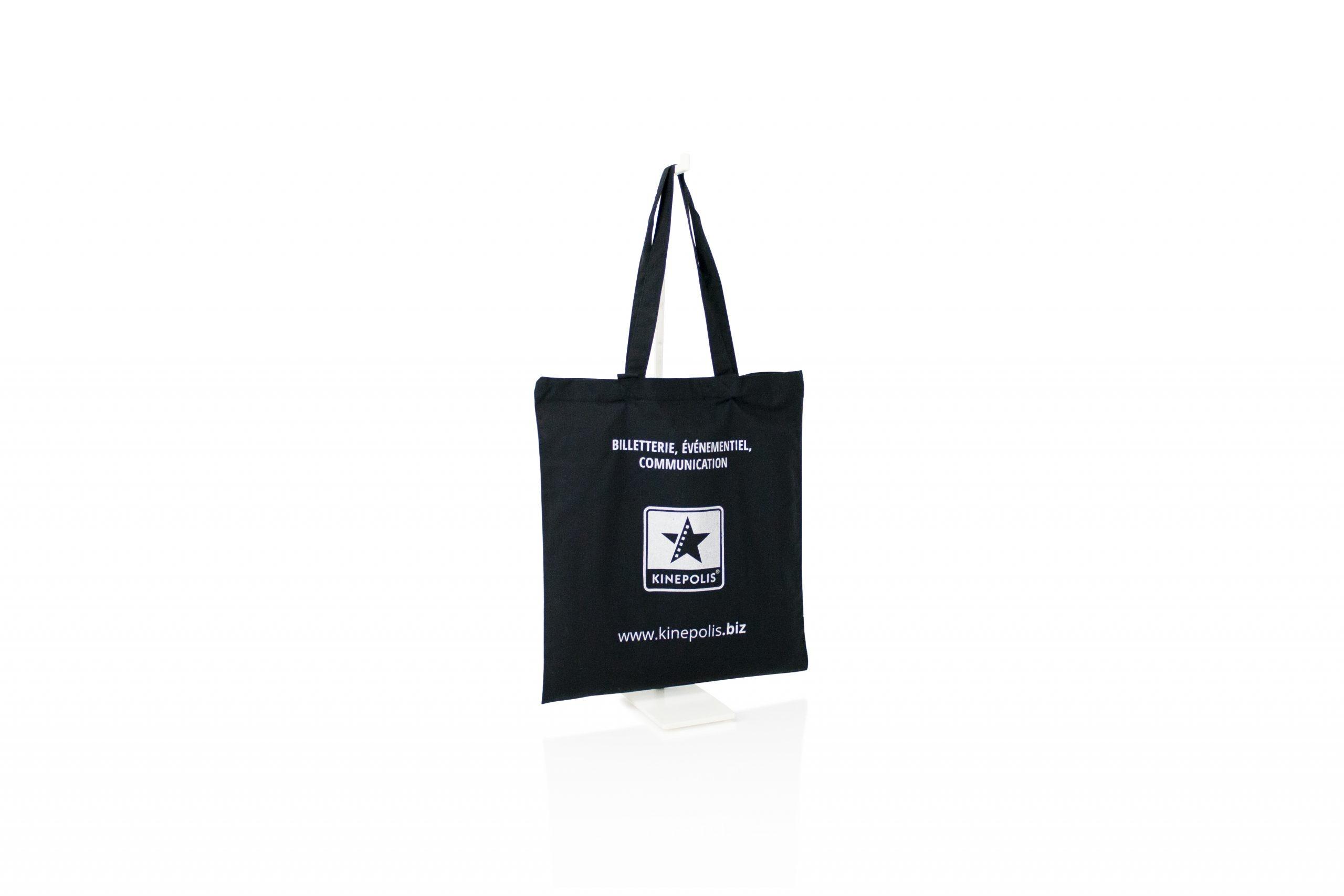Ecologische katoenen zak met logo made in EU