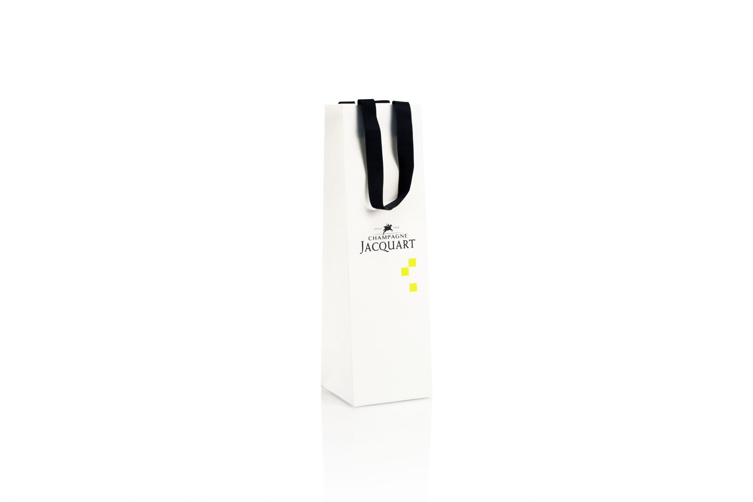 Champagneverpakking luxe papier met foliedruk