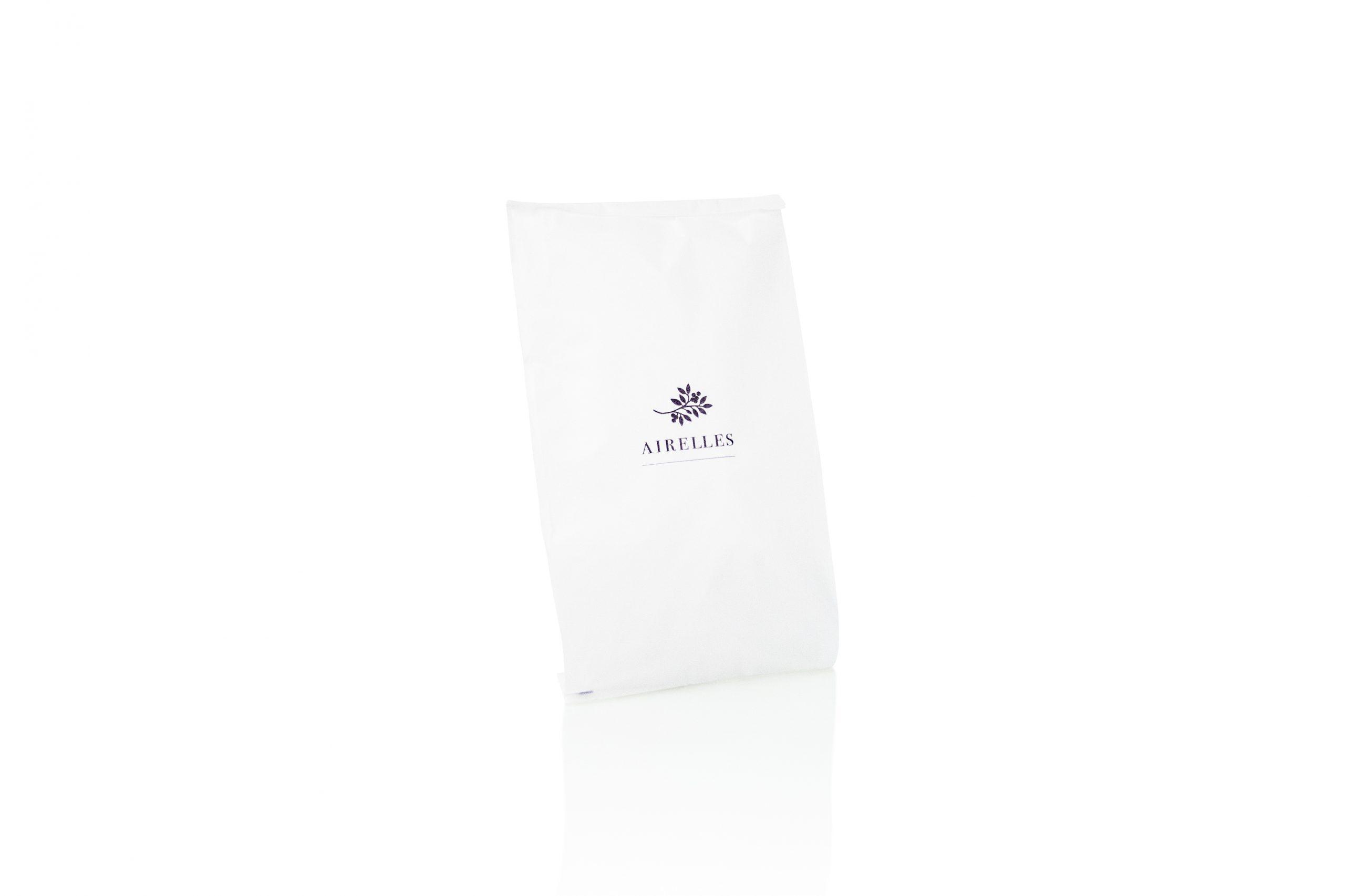 Papieren zakjes kraftpapier FSC label voorzien van logo