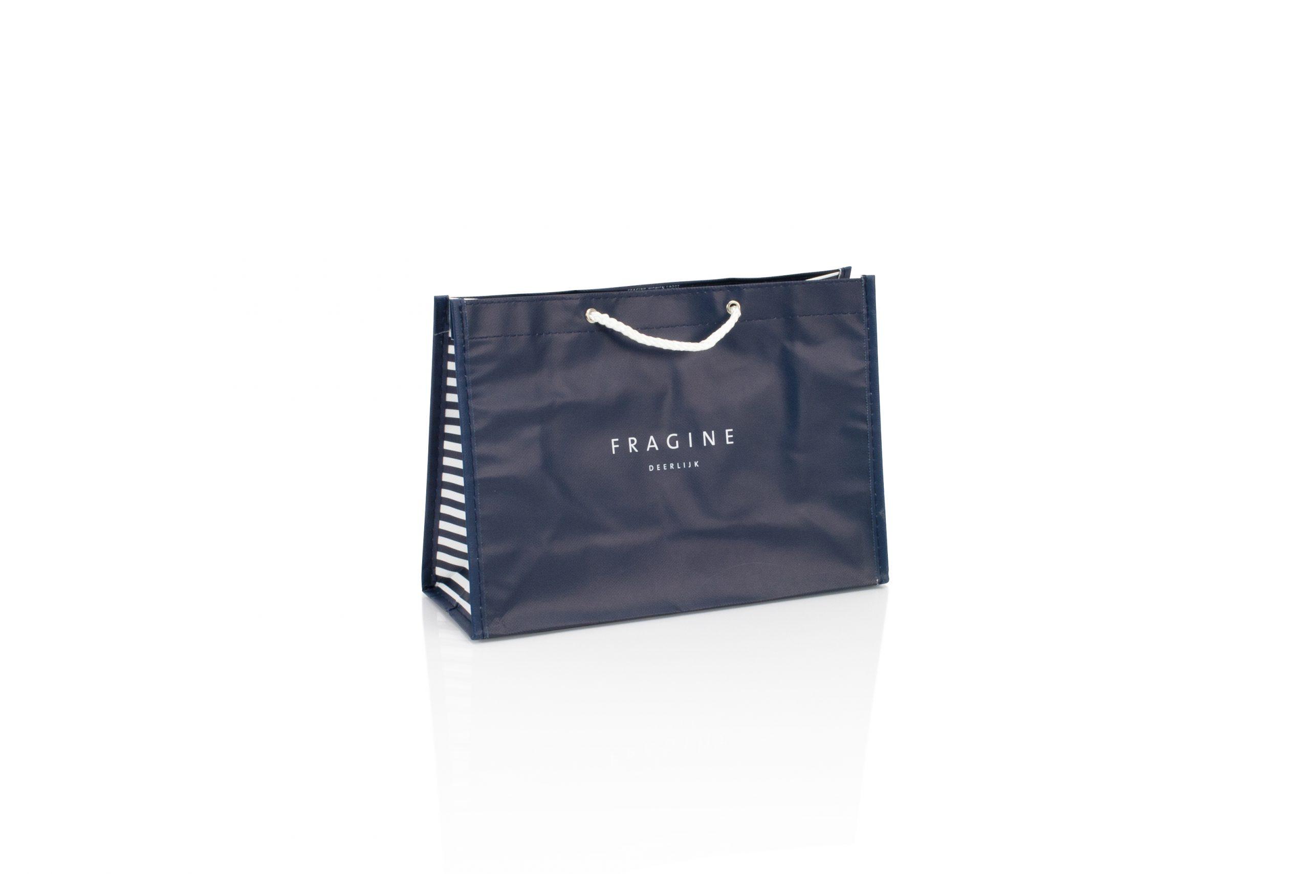 Herbruikbare zakken in non woven materiaal met logo