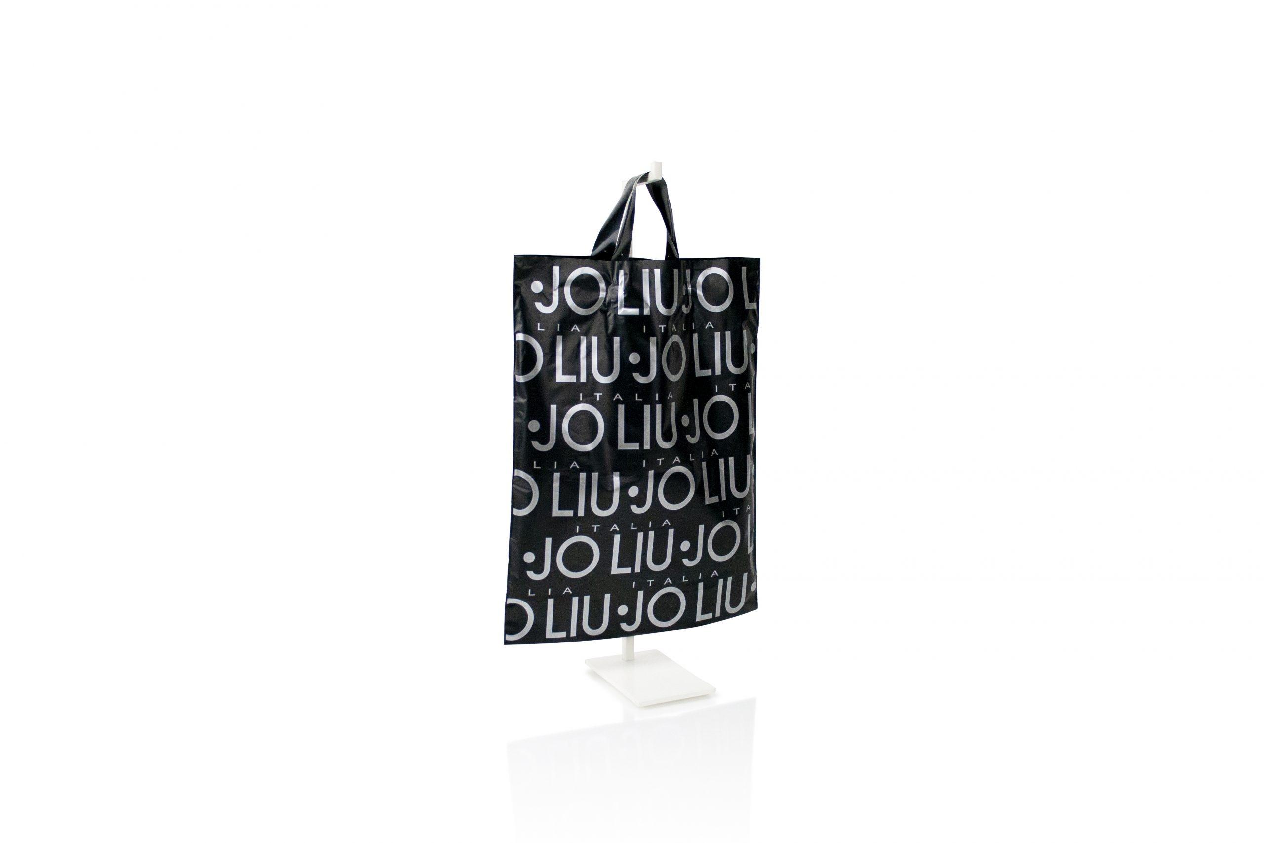 Gepersonaliseerde plastic zakken met lushandvat