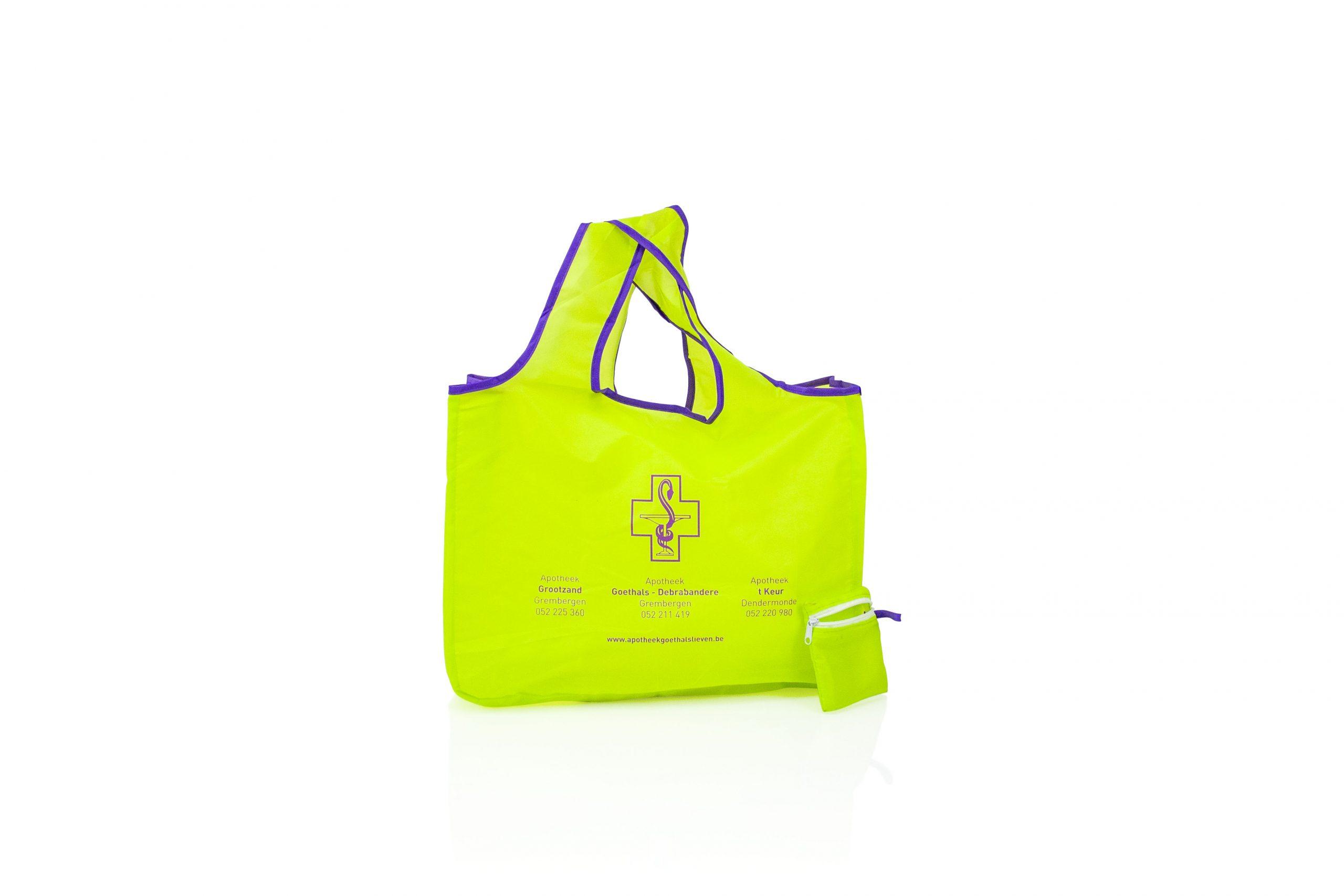 Foldable bag apotheek met logo
