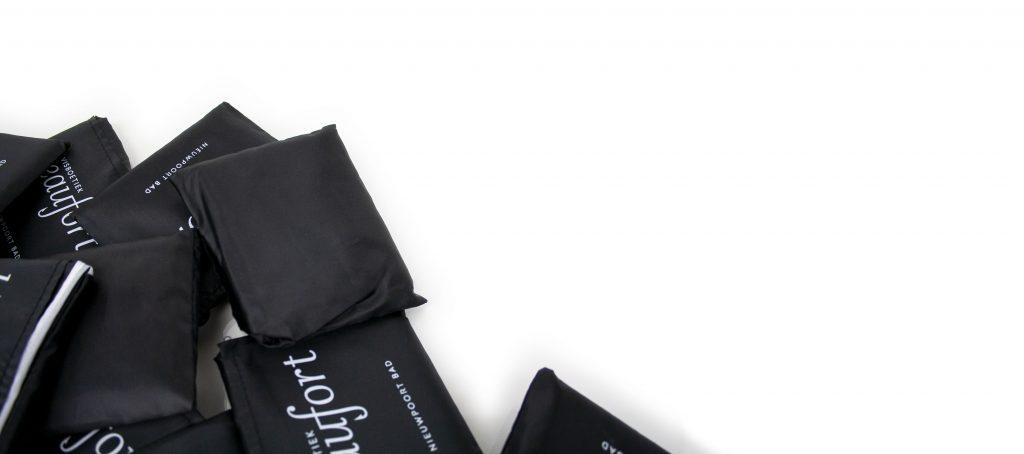 Sacs pliables avec logo vente au détail
