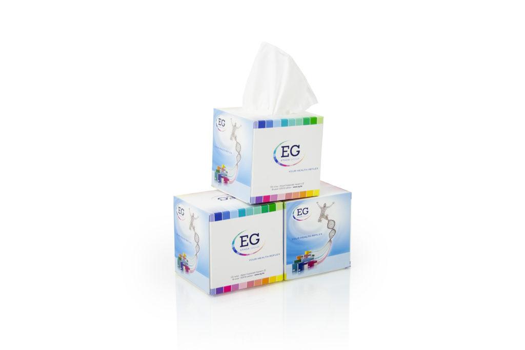 Tissue doosjes met logo
