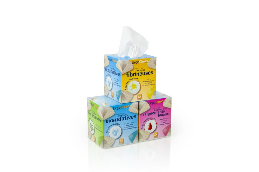 Tissue boxes met bedrukking