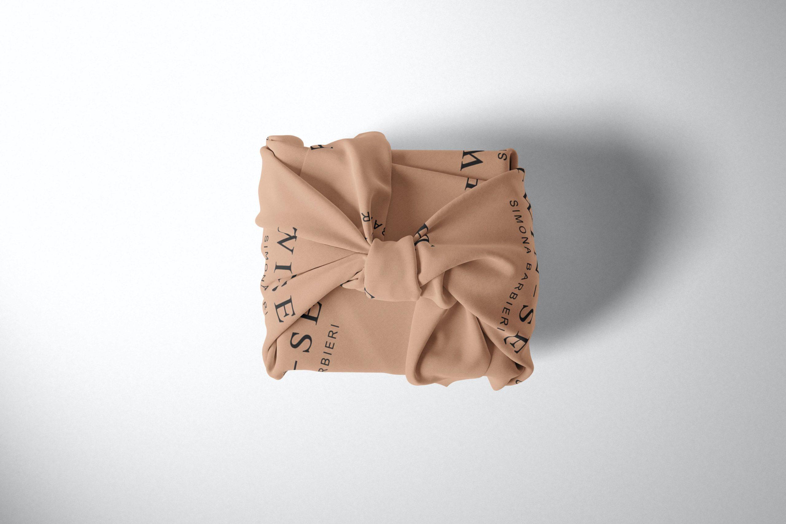 Furoshiki bedrukken met logo ABC Pack Solutions leverancier van promotionele en commerciële verpakkingen