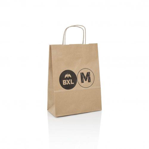 Paper carrier bag flexo printing FSC certified